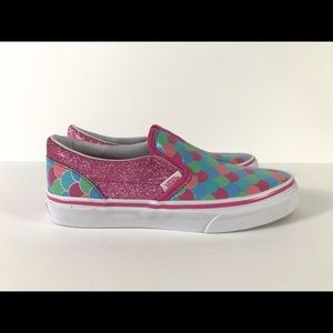 Vans Shoes - Vans Classic Slip-On Mermaid Scales Sneakers